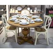 Woodwork Yuvarlak Yemek Masası 30330720
