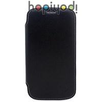 Samsung Galaxy S3 Kılıf Delux Hakiki Deri Türk Malı Siyah