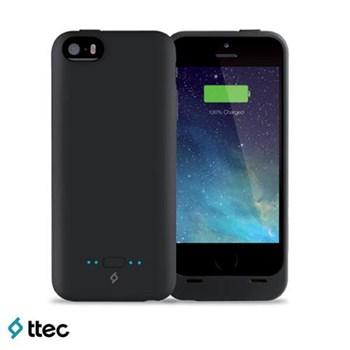 Ttec Caffeine Iphone 5-5S 2000 Mah Şarj Kılıfı 2SK1002S Siyah