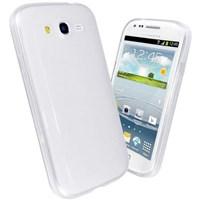 Microsonic Glossy Soft Kılıf Samsung Galaxy Grand Duos I9080 / I9082 Beyaz