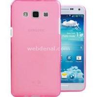 Transparent Soft Samsung Galaxy E7 Kılıf Pembe