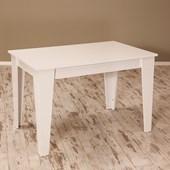 Sanal Mobilya Star Mutfak Masası-Parlak Beyaz 30251119