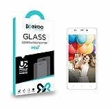 Eiroo General Mobile Discovery Quadro 4 Tempered Glass Cam Ekran Koruyucu