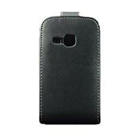 Samsung Galaxy Mini 2 S6500 Kapaklı Dik Açılan Siyah