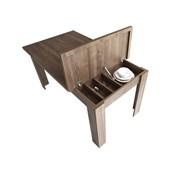 Calitelli Madrid Yemek Masası - Haliç Ceviz 33007320