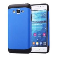 Microsonic Slim Fit Dual Layer Armor Samsung Galaxy Grand Prime Kılıf Mavi