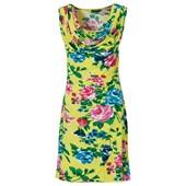 BODYFLIRT Penye elbise - Sarı 91220695 8699067771934