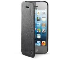 İphone 5/5S Delikli Flip Cover Siyah 2Klyk109S