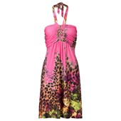 BODYFLIRT boutique Aksesuarlı elbise - koyu pembe 24486973