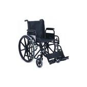 Krom Çelik Gövdeli Katlanabilir ''Delüks'' Tekerlekli Sandalye