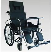 Manuel Lazımlıklı Tekerlekli Sandalye