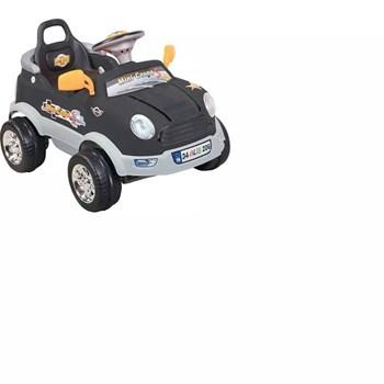 Aliş 206TK Mini Coupe Siyah Uzaktan Kumandalı Akülü Araba