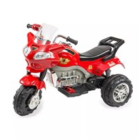 Aliş 404 Kırmızı Turbo Go Way Akülü Motorsiklet