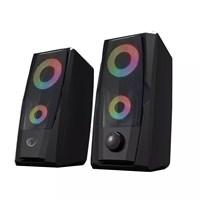 Rampage RMS-X9 2.0 RGB 6W RMS Gaming Speaker Işıklı Hoparlör