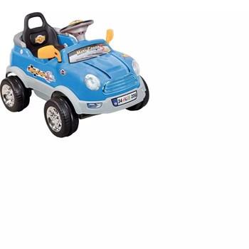 Aliş 206TK Mini Coupe Mavi Uzaktan Kumandalı Akülü Araba